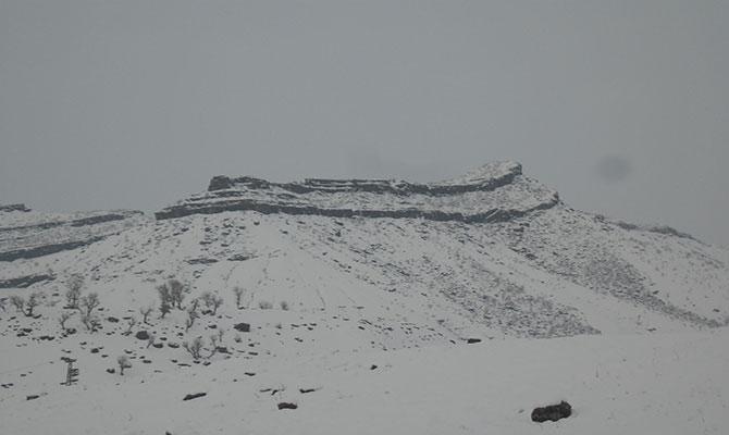 Derecik'te kış manzaraları galerisi resim 1
