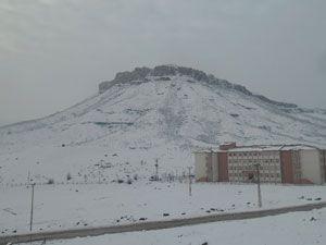 Derecik'te kış manzaraları