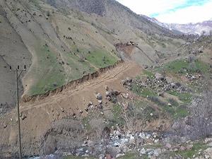 Vapurtepe Dağı Eteklerinden Kırca Köyüne Yeni Bir Yol