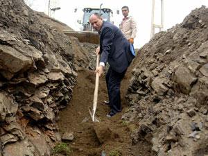 100 haneli mahallenin 100 yıllık su çilesi bitiyor