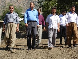 Başkan Çetinkaya, mahalleleri ziyaret etti