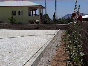Ulu Cami'nin Bahçe Düzenlemesi Bitti