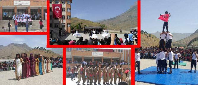 19 Mayıs Atatürk'ü Anma, Gençlik Ve Spor Bayramı Renkli Görüntülere Sahne Oldu