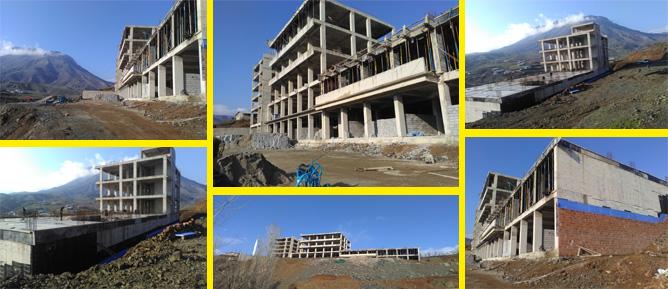 Açıldığında Derecik'in İlk Hastanesi olma özelliğini taşıyacak!