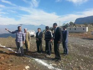 Kaymakam Murat Öztürk Derecik Beldesi'ni ziyaret etti.