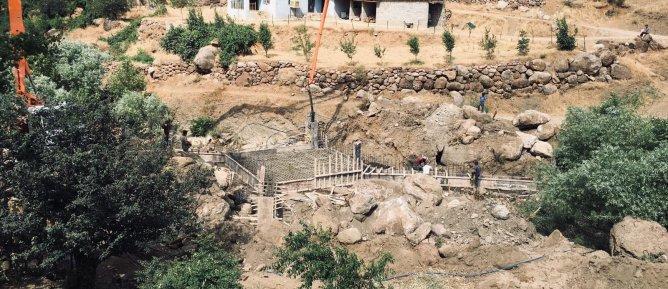 Belediyemiz tarafından yapımı işi devam eden köprü ve menfezler